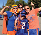 Photo of Bronco Fan Family