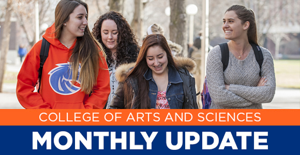 College of Arts and Sciences Monthly Update