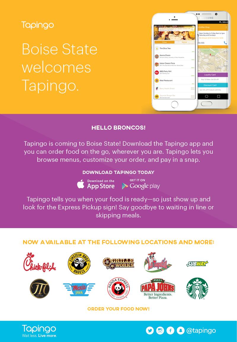 Tapingo App Graphic