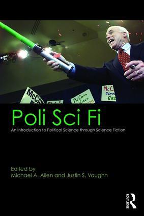 book cover for Poli Sci Fi