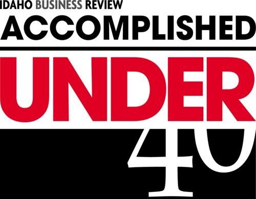 Accomplished Under 40 logo