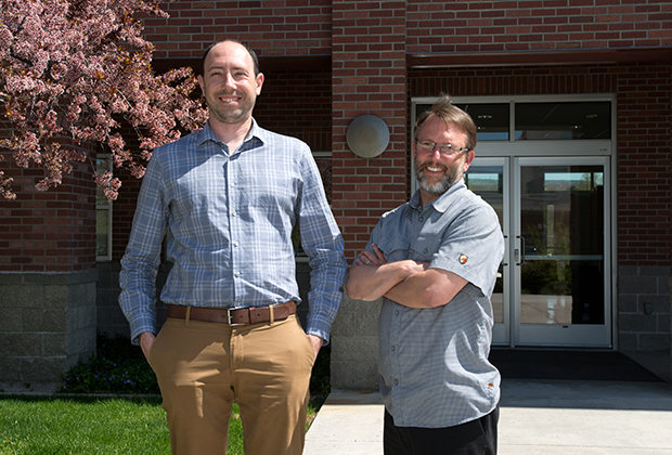 Photo of Professors Touchton and Wampler