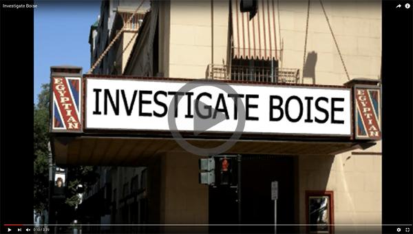 Investigate Boise: Egyptian Theater, Boise