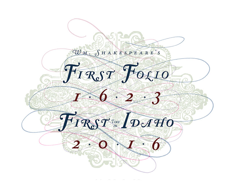 First Folio event logo