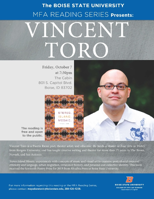 picture and information about Vincent Toro