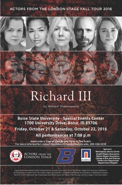 Richard III flyer