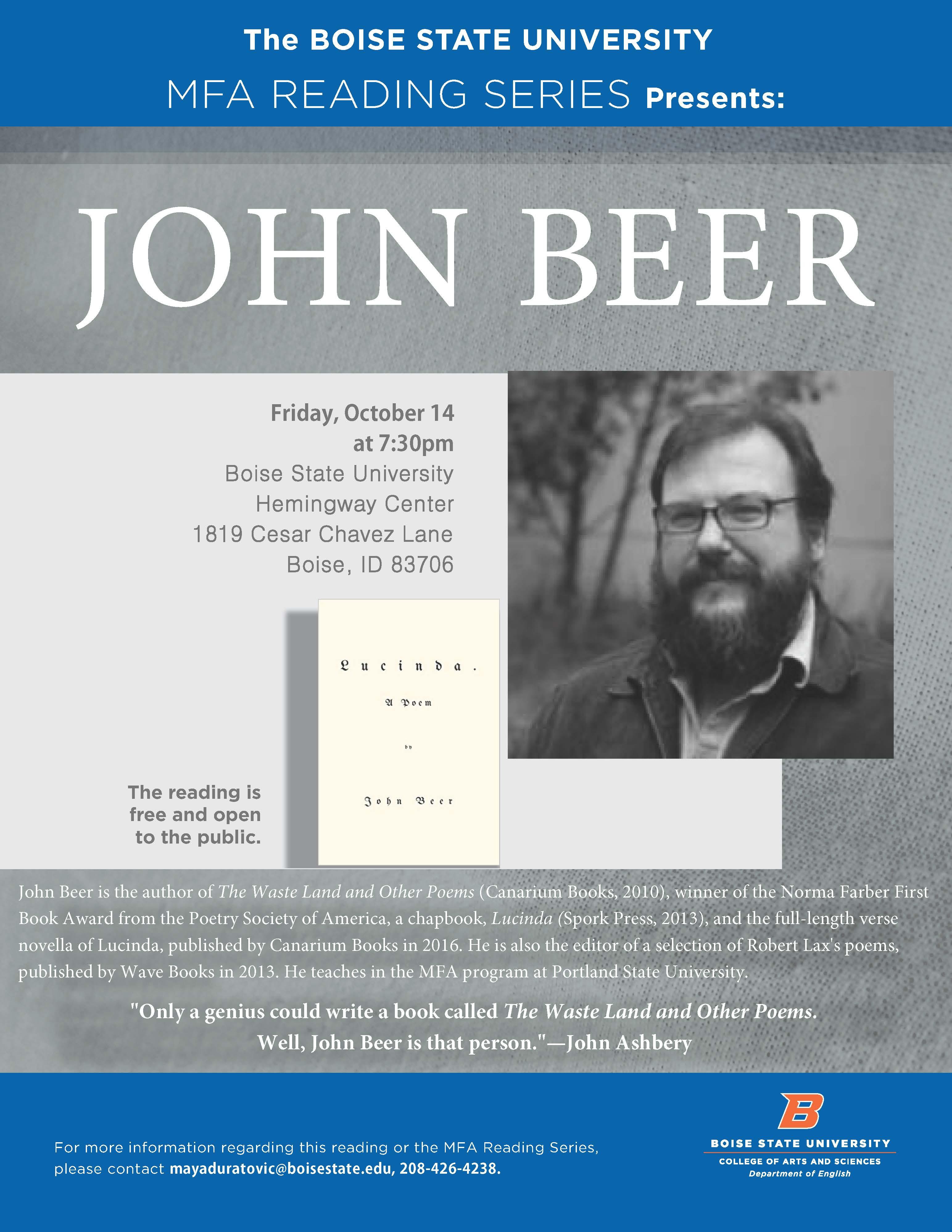 poster of John Beer