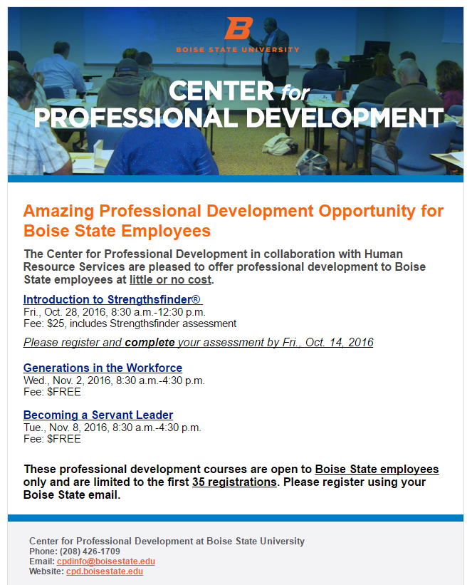 Center for Professional Development