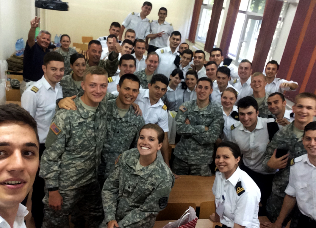 Cadet Grace Matlock and her class
