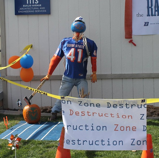 Homecoming 2016 - Destruction zone display