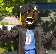 Buster Graduating
