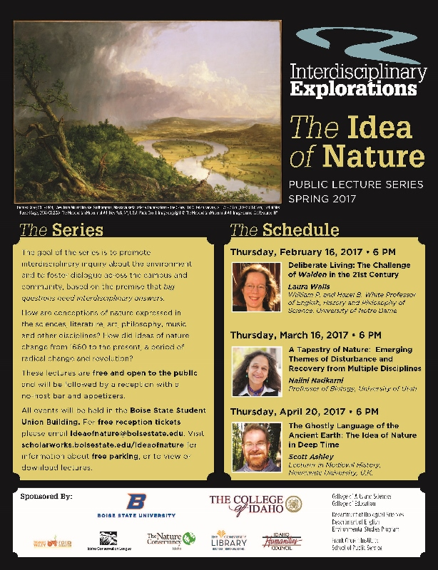 The idea of nature public lecture series