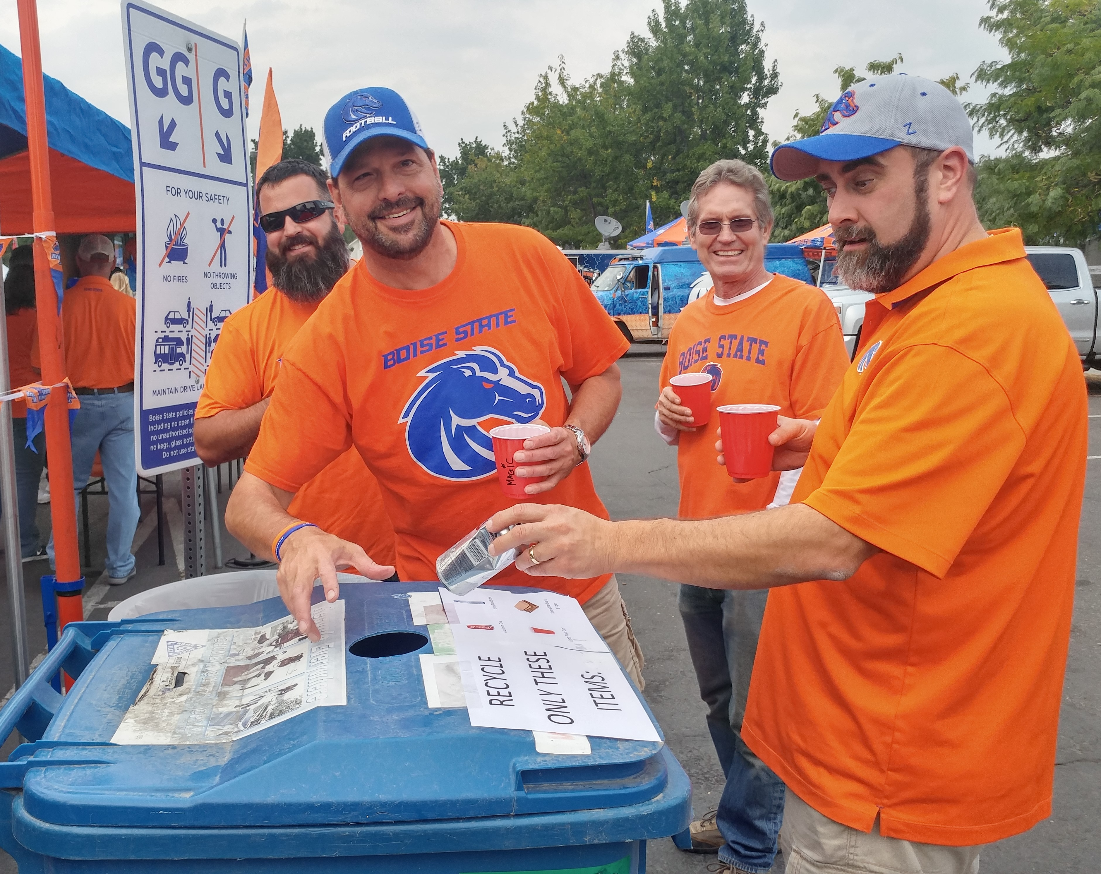 Tailgate Recycling