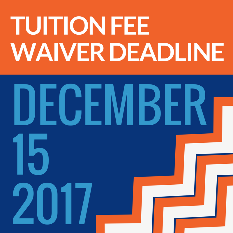 Tuition Fee Waiver Graphic