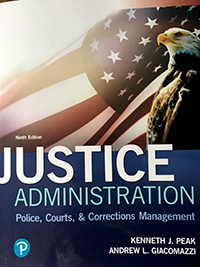 Image of book cover for Justice Admin