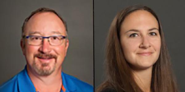 Jim Kerns and Laura King