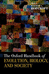 image of book cover for Oxford Handbook of Evolution Biology and Society